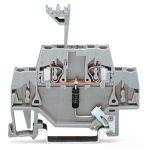 WAGO 280-502/281-608 5mm Diode 230V Terminal Block Grey AWG 28-14 50pk