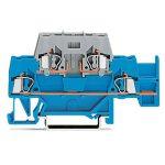 WAGO 280-891 5mm Dbl-Deck Through T-blk. f Plug Fuse Modules Grey …