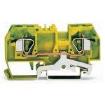 WAGO 282-907 8mm 2-conductor Ground Terminal Block Green-yellow AW…