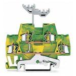 WAGO 280-517 5mm Double Deck Terminal Block Green-yellow AWG 28-14…