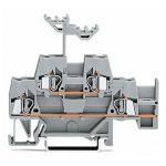 WAGO 280-520 5mm Double Deck Terminal Block Grey AWG 28-14 50pk