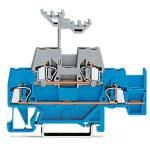 WAGO 280-524 5mm Double Deck Terminal Block Blue, Grey AWG 28-14 50pk