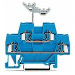 WAGO 280-529 5mm Double Deck Terminal Block ATEX Ex I Blue AWG 28-…