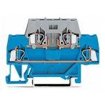WAGO 280-531 5mm Double Deck T-blk. f Plug Fuse Modules Blue Grey …