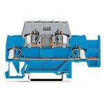 WAGO 280-532 5mm Double Deck T-blk. f Plug Fuse Modules Blue Grey …