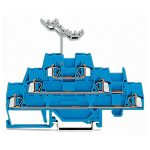WAGO 280-551 5mm Triple Deck Terminal Block Blue AWG 28-14 40pk