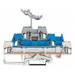 WAGO 280-558 5mm Triple Deck Terminal Block White, Blue, Grey AWG …