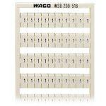 WAGO 209-518 WSB Quick Marker Horizontal ( 1/2) 50ea White 5pk