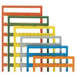 WAGO 248-519/000-006 Miniature WSB Quick Marking System 3 / 4 Blue 5pk
