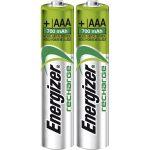Energizer 638625 Rechargeable AAA Battery x2 NiMH 1.2V 850mAh
