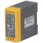 Cotek DN 40-12 DIN Rail Power Supply 12VDC 3.4A 40W 1-Phase