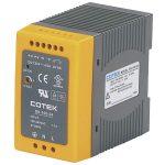 Cotek DN 100-48 DIN Rail Power Supply 48VDC 2A 100W 1-Phase