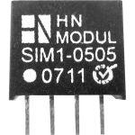 HN Power SIM1-0505-SIL4 DC/DC Converter 5V DC In, 5V DC Out 200mA