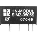 HN Power SIM2-0505S-SIL7 DC/DC Converter 5V DC In, 5V DC Out 400mA