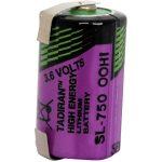 Tadiran Batteries SL-750T 1/2 AA Size 1100mAh Lithium Battery Cell…