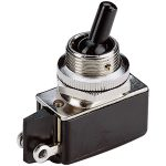 Marquardt 0100.1201 2A Miniature Toggle Switch SPST On-Off Black P…