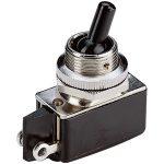 Marquardt 0101.0401 2A Miniature Toggle Switch SPST On-On Black Pl…