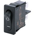 Marquardt 1901.1103 6A Rocker Switch SPST On-Off Faston Black 21mm…