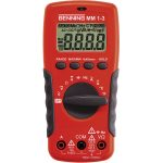Benning 044083 MM 1-3 Digital Multimeter 2000 Counts LCD CAT III 600V