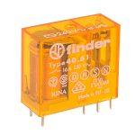 Finder 40.61.8.240.0000 240V Relay (Miniature) SDPT DC 16A