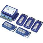 TowiTek Set 2-Channel Radio Remote Control Transmitter + 5