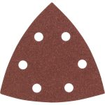 Bosch 2608605602 Delta Sandpaper Hook and Loop Perforated 120 Grit 9…