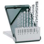 Bosch 2609255462 Carbide Masonry Drills Set Straight Shank 3 to 10…