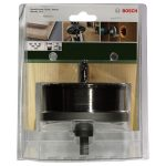 Bosch 2609255633 Hole Saw Set 68 to 100x31mm 5-pieces and Arbor /Cen…