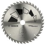 Bosch 2609256822 Circular Saw Blade Standard 205×24/20/18/16×2.2mm…