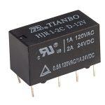 HJRC1-2CD12V 12V DPDT 2A Tianbo Relay
