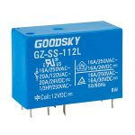 Good Sky GZ-SS-112L 12V 16A SPDT Relay