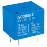Good Sky RWH-SS-105D 5V RWH Series 12A SPDT Relay