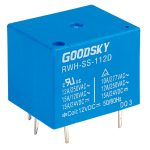 Good Sky RWH-SS-112D 12V RWH Series 12A SPDT Relay