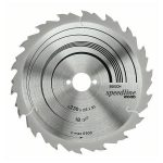 Bosch 2608640805 Circular Saw Blade Wood Speedline 230x30x2.6mm 30…
