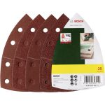 Bosch 2607017112 Delta Sandpaper Set Hook and Loop Perforated 102 x …