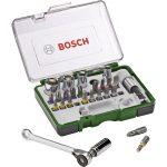 Bosch 2607017160 27-Piece Ratchet Screwdriver and Socket Set