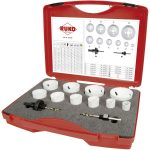RUKO 126303 HSS CO8 Bi-Metal Hole Saw Set 12pc
