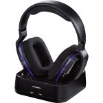 Thomson Wireless Headphones, Black