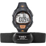 Timex T5K720 Ironman Road Trainer (Black, Orange)
