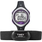 Timex T5K723 Ironman Road Trainer (Black, Violet, Lilac)