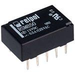 Relpol RSM850-6112-85-1012 DPDT Subminiature Signal Relay 12V 1A PCB