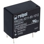 Relpol RM32N-3011-85-1012 SPDT Miniature Relay 12V 5A PCB