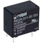 Relpol RM32N-3011-85-1024 SPDT Miniature Relay 24V 5A PCB