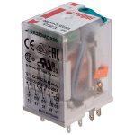 Relpol R4N-2014-23-1024-WTL Industrial 24V DC 7A 4PDT Plug-In Relay