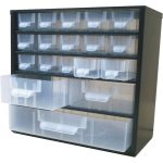 VISO 8118 SINGLE Steel Cabinet 18 Compartment 306 x 155 x 282mm – …