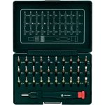 Toolcraft 809204 Micro Bit Set Including Ratchet Handle 31 Piece