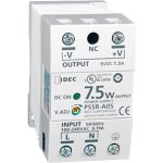 Idec PS5R-A12 DIN Rail Power Supply PFC 12VDC 0.63A 7.5W 1-Phase