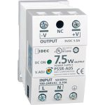 Idec PS5R-A24 DIN Rail Power Supply PFC 24VDC 0.31A 7.5W 1-Phase