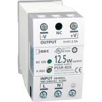 Idec PS5R-B12 DIN Rail Power Supply PFC 12VDC 1.25A 15W 1-Phase