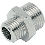 ICH 20105 Nipple Adaptor G 1/2 to G 1/2 60 bar Brass NP